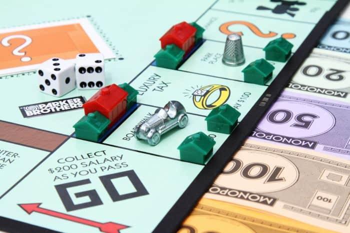 monopoly case départ